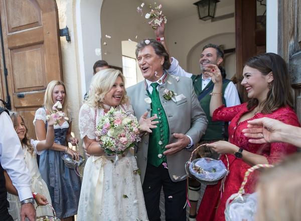 So Feierten Marianne Und Michael Ihre Kirchliche Hochzeit