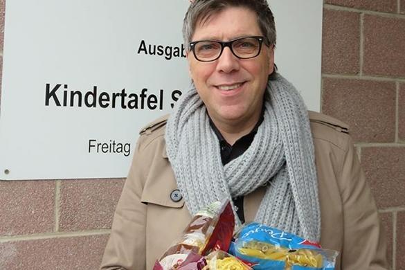 Christian Lais unterstützt Kindertafel