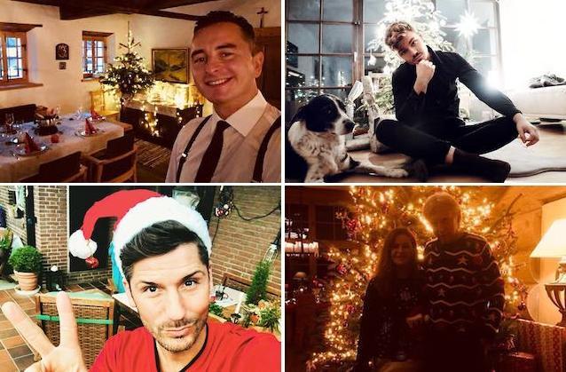 Weihnachtsbilder Und Videos.Andrea Berg Andreas Gabalier Co Die Schönsten Weihnachtsbilder