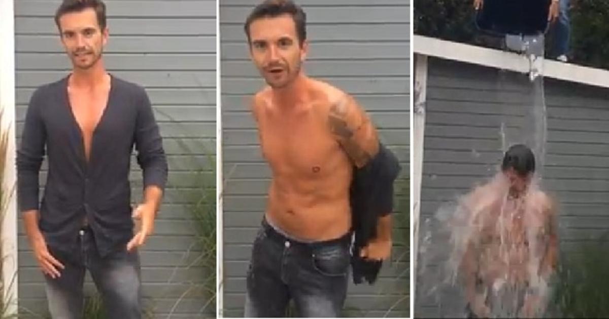 """Florian Silbereisen: """"Ice Bucket Challenge"""""""