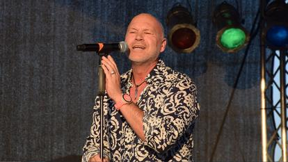 Olaf Henning bei der Sommer-Beachparty in Bottrop