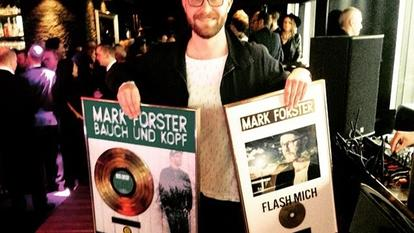Mark Forster Gold Doppelplatin