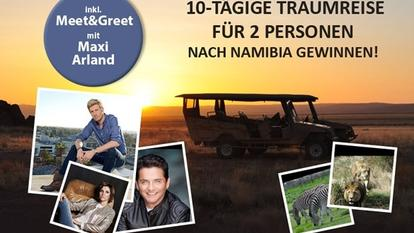 GoldStar TV Namibia Reise
