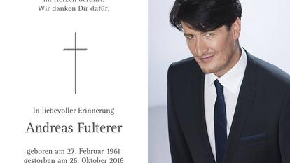Andreas Fulterer Tod