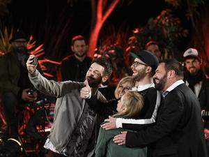 """Sing meinen Song"" mit Johannes Strate, Mary Roos, Leslie Clio, Mark Forster, Marian Gold (von links)."
