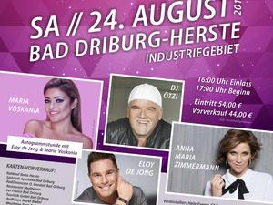 Schlager Summer Open Air in Bad Driburg.