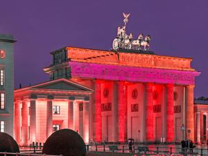 "Aktion ""Night of Light"" – Brandenburger Tor"
